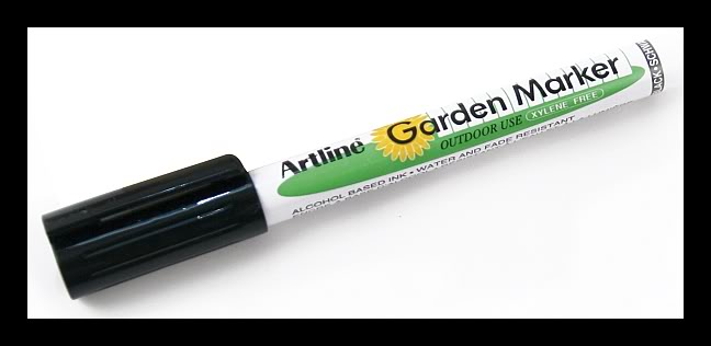 Garden Marker (Water and Fade Resistant)